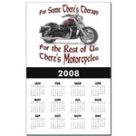 Motorcycle Therapy Calendar Print