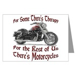 Motorcycle Therapy Greeting Card
