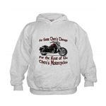 Motorcycle Therapy Kids Hoodie
