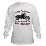 Motorcycle Therapy Long Sleeve T-Shirt