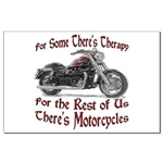 Motorcycle Therapy Mini Poster Print
