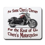 Motorcycle Therapy Mousepad