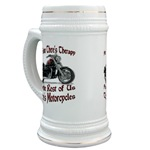Motorcycle Therapy Stein