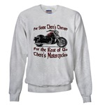 Motorcycle Therapy Sweatshirt