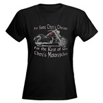 Motorcycle Therapy Women's Dark T-Shirt