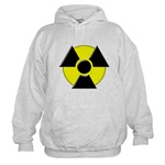 3D Radioactive Symbol Hooded Sweatshirt