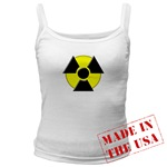 3D Radioactive Symbol Jr. Spaghetti Tank