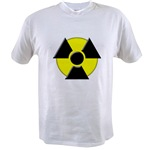 3D Radioactive Symbol Value T-shirt