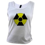 3D Radioactive Symbol Women's Tank Top