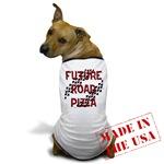 Future Road Pizza Dog T-Shirt