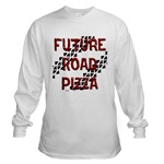 Future Road Pizza Long Sleeve T-Shirt