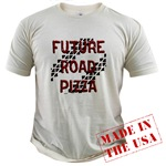 Future Road Pizza Organic Cotton Tee