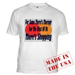 Shopping Therapy Fitted T-Shirt