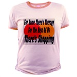 Shopping Therapy Jr. Ringer T-Shirt