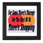 Shopping Therapy Keepsake Box