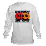 Shopping Therapy Long Sleeve T-Shirt