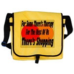 Shopping Therapy Messenger Bag