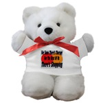Shopping Therapy Teddy Bear