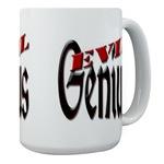 Evil Genius Large Coffee Mug