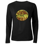 Flying Monkeys Women's Long Sleeve Dark T-Shirt