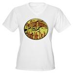 Flying Monkeys Women's V-Neck T-Shirt