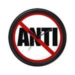 Anti-Anti Wall Clock