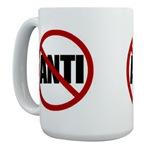 Anti-Anti Large Coffee Mug