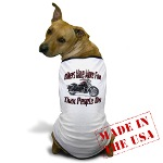 Bikers Have More Fun Dog T-Shirt