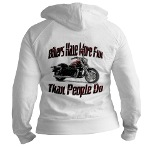 Bikers Have More Fun Jr. Hoodie