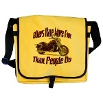 Bikers Have More Fun Messenger Bag