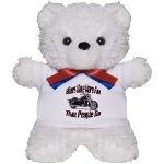 Bikers Have More Fun Teddy Bear