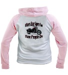 Bikers Have More Fun Women's Raglan Hoodie