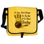 Bowling Therapy Messenger Bag