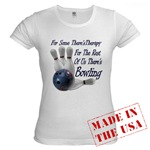 Bowling Therapy Jr. Baby Doll T-Shirt