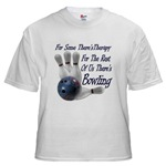 Bowling Therapy White T-Shirt