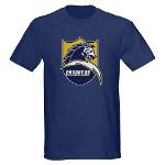 Chargers Bolt Shield Dark T-Shirt
