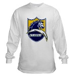 Chargers Bolt Shield Long Sleeve T-Shirt