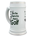 Golf Therapy Beer Stein
