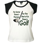 Golf Therapy Women's Cap Sleeve T-Shirt