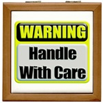 Handle With Care Warning  Tile Box