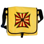 American Maltese Cross Messenger Bag