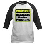Contents Under Pressure Baseball Jersey