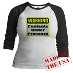 Contents Under Pressure Jr. Raglan