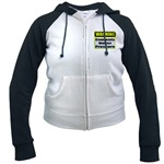 Contents Under Pressure Women's Raglan Hoodie