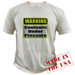 Contents Under Pressure Organic Cotton Tee
