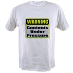 Contents Under Pressure Value T-shirt