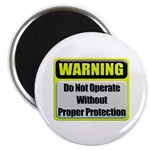 Do Not Operate Warning Magnet
