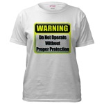 Do Not Operate Warning  Women's T-Shirt