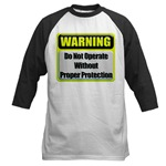 Do Not Operate Warning Baseball Jersey