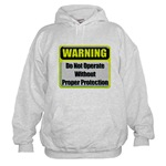 Do Not Operate Warning Hooded Sweatshirt